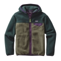 Industrial Green - Patagonia - Boys' Lightweight Synchilla Snap-T Hoody