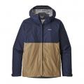 Classic Navy w/Mojave Khaki - Patagonia - Men's Torrentshell Jacket