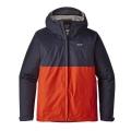 Navy Blue w/Paintbrush Red - Patagonia - Men's Torrentshell Jacket