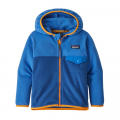 Superior Blue w/Bayou Blue - Patagonia - Baby Micro D Snap-T Jacket