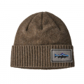 Fitz Roy Trout Patch: Ash Tan - Patagonia - Brodeo Beanie
