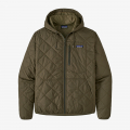 Basin Green - Patagonia - Men's Diamond Quilted Bomber Hoody