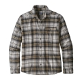 Bad Ombre: Black - Patagonia - Men's LW Fjord Flannel Shirt