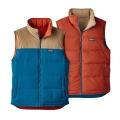 Big Sur Blue - Patagonia - Men's Reversible Bivy Down Vest