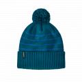 Perennial Stripe Knit: Steller Blue - Patagonia - Powder Town Beanie