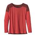French Red - Patagonia - Women's Lightweight L/S Layering Top