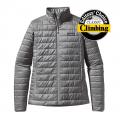 Feather Grey - Patagonia - Women's Nano Puff Jacket