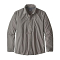 Whole Weave: Feather Grey - Patagonia - Men's L/S Sun Stretch Shirt