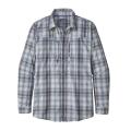 King Swing: Radar Blue - Patagonia - Men's L/S Sun Stretch Shirt