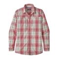 King Swing: Static Red - Patagonia - Men's L/S Sun Stretch Shirt