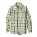 Stove Leg: Birch White - Patagonia - Men's L/S Sun Stretch Shirt