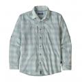 Haven: Atoll Blue - Patagonia - Men's L/S Sun Stretch Shirt