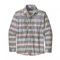 Tarkine Stripe: Dolomite Blue - Patagonia - Men's L/S Sun Stretch Shirt