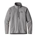 Feather Grey - Patagonia - Men's Performance Better Sweater 1/4 Zip