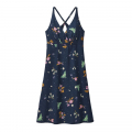 Night Pollinators Spaced: New Navy - Patagonia - Women's Amber Dawn Dress