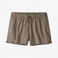 Swell Dobby: Furry Taupe - Patagonia - Women's Island Hemp Baggies Shorts