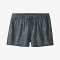 Coral Colony: Plume Grey - Patagonia - Women's Island Hemp Baggies Shorts