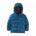 Crater Blue - Patagonia - Baby Hi-Loft Down Sweater Hoody