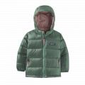 Regen Green - Patagonia - Baby Hi-Loft Down Sweater Hoody
