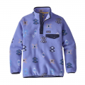 Space Spirits: Violet Blue - Patagonia - Girls' LW Synch Snap-T P/O