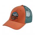 Sunset Orange - Patagonia - Fitz Roy Scope LoPro Trucker Hat