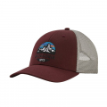 Dark Ruby - Patagonia - Fitz Roy Scope LoPro Trucker Hat