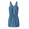 Swamp Stamp: Pigeon Blue - Patagonia - Women's Fleetwith Dress
