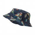 Parrots: Stone Blue - Patagonia - Wavefarer Bucket Hat