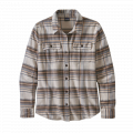 Cabin Time: Birch White - Patagonia - Women's L/S Fjord Flannel Shirt