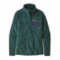 Piki Green - Dark Piki Green X-Dye - Patagonia - Women's Re-Tool Snap-T Pullover