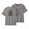 Tree Trotter: Feather Grey - Patagonia - Men's Cap Cool Daily Graphic Shirt