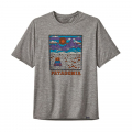 Summit Road: Feather Grey - Patagonia - Men's Cap Cool Daily Graphic Shirt