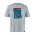 Cosmic Peaks: Atoll Blue - Patagonia - Men's Cap Cool Daily Graphic Shirt