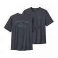Playlands - Mountains: Smolder Blue X-Dye - Patagonia - Men's Cap Cool Daily Graphic Shirt