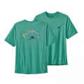 Vision Mission: Beryl Green X-Dye - Patagonia - Men's Cap Cool Daily Graphic Shirt
