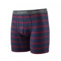 Pier Stripe: New Navy - Patagonia - Men's Essential Boxer Briefs - 6 in.