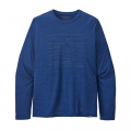 Up High Endurance: Superior Blue X-Dye - Patagonia - Men's L/S Cap Cool Daily Graphic Shirt