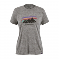 Free Hand Fitz Roy: Feather Grey - Patagonia - Women's Cap Cool Daily Graphic Shirt