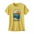 Sunset Sets: Pineapple - Patagonia - Women's Cap Cool Daily Graphic Shirt
