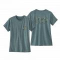 Power Plants: Regen Green X-Dye - Patagonia - Women's Cap Cool Daily Graphic Shirt