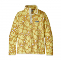 Pollen Confetti Big: Surfboard Yellow - Patagonia - Women's Micro D Snap-T Pullover