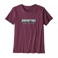 Light Balsamic - Patagonia - Women's Pastel P-6 Logo Organic Crew T-Shirt