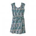 Furnai Floral: New Navy - Patagonia - Women's Seabrook Twist Dress