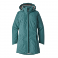 Tasmanian Teal - Patagonia - Women's Torrentshell City Coat
