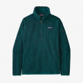 Dark Borealis Green - Patagonia - Women's Better Sweater 1/4 Zip