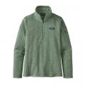Gypsum Green - Patagonia - Women's Better Sweater 1/4 Zip