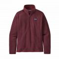 Chicory Red - Patagonia - Women's Better Sweater 1/4 Zip