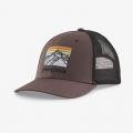 Dusky Brown - Patagonia - Line Logo Ridge LoPro Trucker Hat