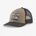 El Cap Khaki - Patagonia - Line Logo Ridge LoPro Trucker Hat