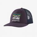 Piton Purple - Patagonia - Line Logo Ridge LoPro Trucker Hat